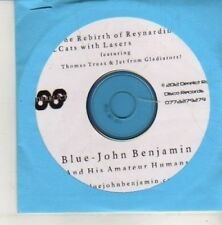 (CN509) John Benjamin & His Amateur Humans, Blue - 2012 DJ CD