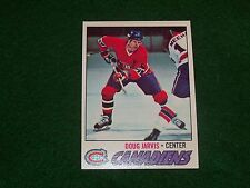 doug jarvis  (montreal canadians-c) 1977/78 topps card #139 excellent condition