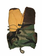 USGI Military Surplus Army Woodland Camo ECWS Extreme Cold Hunting Mittens S NEW