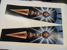 The Shadow Pinball Head Decal Set. Brand New (Next Gen) to Exact Williams Specs!