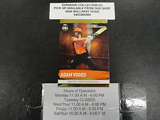 2016/17 CRICKET TAP N PLAY GOLD CARD NO.162 ADAM VOGES PERTH SCORCHERS