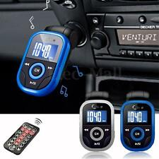 Wireless LCD Car Kit MP3 Player FM Transmitter Modulator USB SD MMC Remote