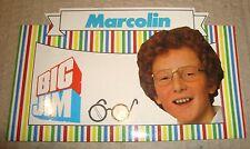 BIG JIM MARCOLIN OCCHIALI ADESIVO PUBBLICITARIO ANNI '80