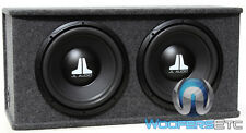"JL AUDIO CS212-WXV2 CAR 12"" LOADED SUBWOOFERS SPEAKERS ENCLOSURE BASS BOX NEW"