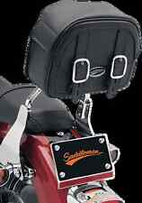 Saddlemen EX2200 Drifter sissy bar bag motorcycle Harley luggage Syn Leather