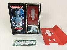 """custom Vintage Star wars 12"""" K-3PO box + inserts"""