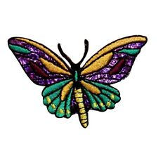 ID 2026 Butterfly Insect Embroidered Iron On Applique Patch
