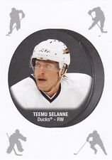 TEEMU SELANNE 2016-17 16-17 OPC PUCK STICKER REDEMPTION #1 DUCKS !