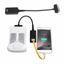 Smart 5V Power Battery Discharger Discharging Hub For DJI Phantom 4 Charge Phone