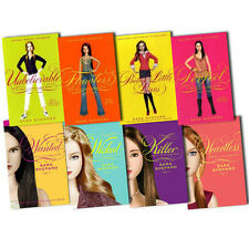 Sara Shepard Pretty Little Liars 8 Books Collection Set (Wanted, Heartless)NEW