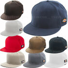 Dickies Hats Core Flat Bill Adult Fitted Baseball Cap Cotton Black Navy Gray...