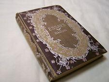 Francis Bacon Essay's -1st Ed.H/C1883 H.M.Caldwell.NYC  Religion&Spirituality
