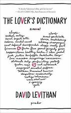 The Lover's Dictionary: A Novel, Levithan, David, Good Book