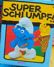 40209 Schtroumpf chasse aux papillons smurf pitufo puffo schlumpf puffi  boite
