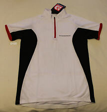 Diamondback Ladies Womens White Short Sleeve Cycling Jersey Size M New