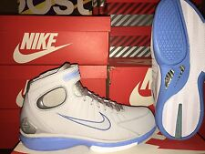 NEW: NIKE AIR ZOOM HUARACHE 2K4 SZ 10 KOBE BRYANT WOLF GREY/BLUE-WHT #308475-002