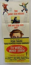 DAYBILL MOVIE POSTER - ORIGINAL - WORLD OF HENRY ORIENT - PETER SELLERS -