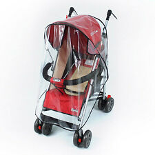 Waterproof Rain Cover Wind Dust Shield For Baby Strollers Pushchairs Chic