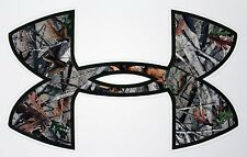 "Under Armour Tree Camo Camouflage  Truck/Window Decals Stickers- 11.5"" x 7"""