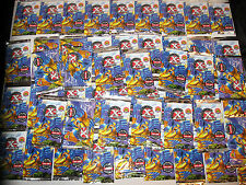 FIFTY 1996 MARVEL THE X-MEN FLEER FOIL PACKS CARDS NO WAX BOX WOLVERINE AVENGERS