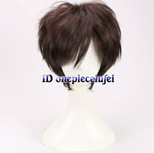 Gravity Falls Dipper Pines men boys short brown cosplay wig +a wig cap