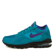 Nike Air Max 93 Size? Exclusive Teal/Purp/Blk 306551-360 Sz US 10 NEW