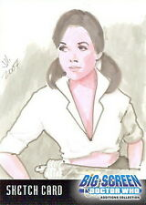 Dr Doctor Who Big Screen Additions Sketch Card by Ingrid Hardy /3