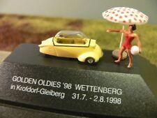 1/87 Busch Messerschmitt Kabinenroller Wettenberg Krofdorf-Gleiberg hellgelb