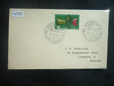 Switzerland 1954 (Cover To England Summer & Winter Vacation) (SG 549) Cover