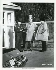 KEVIN DOBSON GEORGE SAVALAS RALPH MADLENER KOJAK ORIGINAL 1976 CBS TV PHOTO