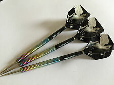 23g Rainbow Pegasus Tungsten Darts Set, Unicorn Stems & Bulls Pegasus HD Flights