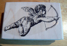 Cupid rubber stamp WM NEW 3x2""