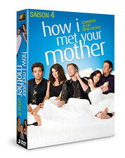 5096 // HOW I MET YOUR MOTHER SAISON 4 COFFRET 3 DVD NEUF