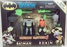 Batman The Animated Series Mission Masters Night Shadow Batman & Fury Robin MIB