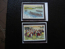 FINLANDE - timbre yvert et tellier n° 845 846 n* (A22) stamp finland