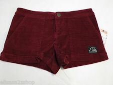 Quiksilver Casual Shorts juniors womens 3 Classic Cord Short RG g11063 roxy*^
