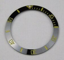 NERO / Oro Lunetta in ceramica Inserisci per 40mm ROLEX SUBMARINER 116610 LN-UK STOCK