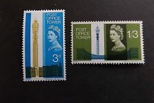 GB MNH STAMP SET 1965 Post Office Tower (ord) SG 679-680 10% OFF ANY 5+