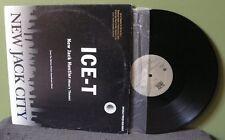 """Ice T """"New Jack Hustler"""" 12"""" NM OOP Orig Cube Dr Dre Snoop Dogg NWA vinyl"""