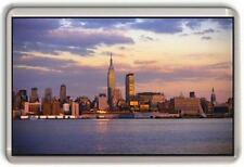 New york City sky line Fridge Magnet #1