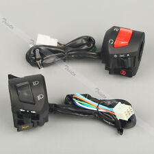"Motorcycle 7/8"" Handlebar Horn Turn Signal Headlight Electrical Start Switch J06"