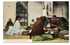 """germany postcard """"mexicans making cigarettes"""" Republica mexicana occupational"""