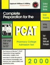 Complete Preparation for the PCAT 2000: Pharmacy College Admissions Te-ExLibrary