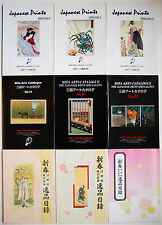 9 Mita Arts Catalogues; Mita Arts Gallery Co., Ltd., Tokyo