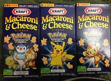 KRAFT MACARONI & CHEESE POKEMON SERIES DIAMOND & PEARL BOX # 2 OF 6 CHIMCHAR NEW