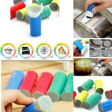 Magic Stainless Steel Metal Wash Brush Rust Remover Cleaning Detergent Stick  N