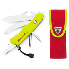 VICTORINOX SWISS ARMY Rescue Tool KNIFE Free LED Light 35590