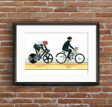 Sir Chris Hoy, Keirin, London 2012 Olympics POSTER PRINT A1 size