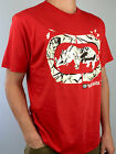 ECKO. Unltd. 1001 PIECES. 100% Cott. Men's NAVY RED WHITE T-Shirts. S M L XL XXL
