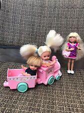 Mattel Barbie - Kelly's Friends TOMMY KELLY STACIE DOLLS in Puffer